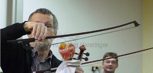 Das Orchester im Klassenzimmer 2010