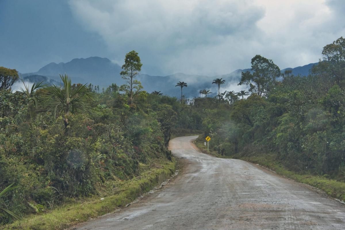 Parque Puracé, Colombia