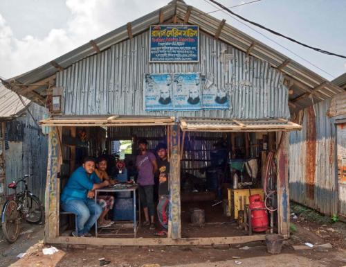 welder's shop